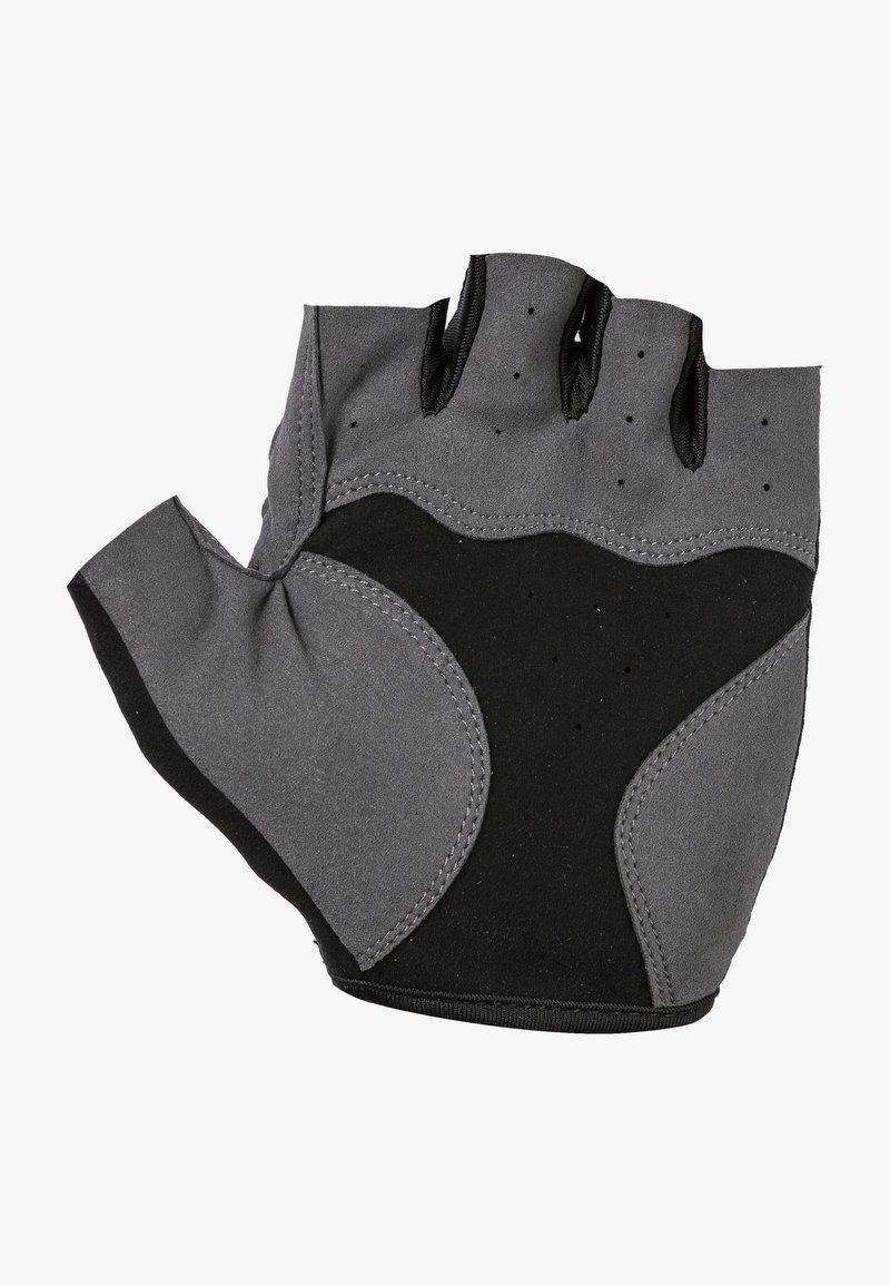 Endurance - Fingerless gloves -  black