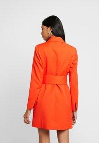 IVY & OAK - WITH BELT - Day dress - mandarin red - 2