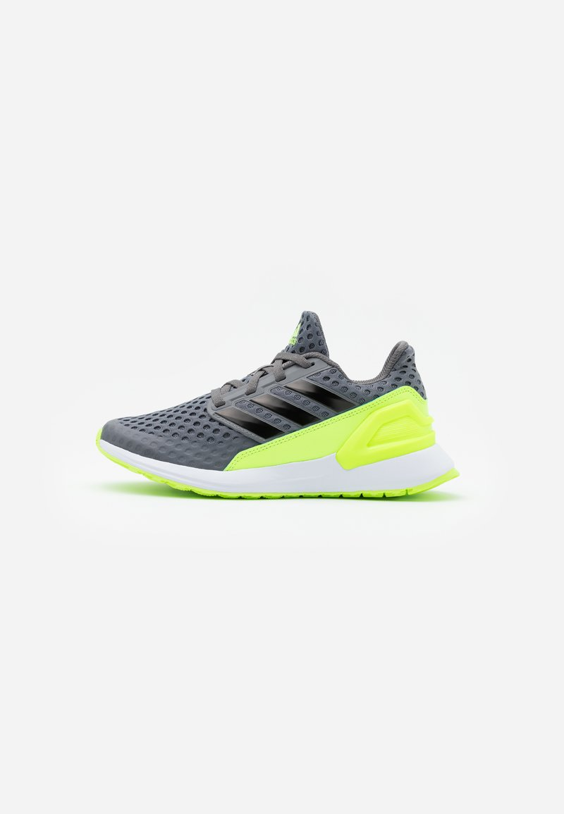 adidas Performance - RAPIDA ACTIVE CLOUDFOAM RUNNING SHOES - Neutral running shoes - grey four/clear black/signal green