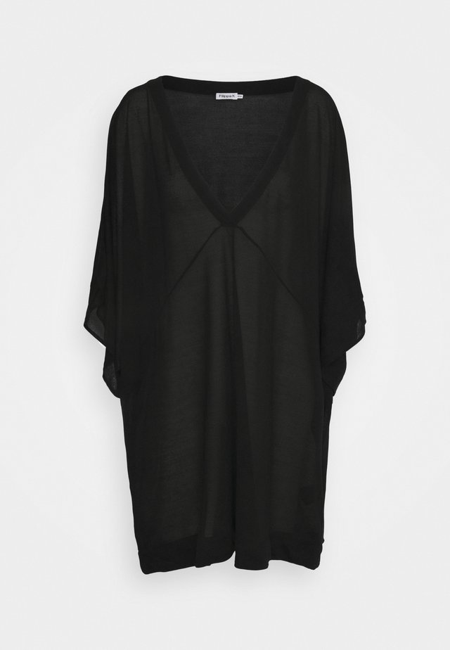 BEACH TUNIC - Complementos de playa - black