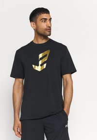Under Armour - EMBIID MINE TEE - Print T-shirt - black - 0