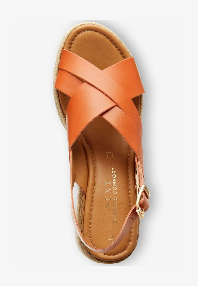 CROSS-OVER  - Espadrilles - orange