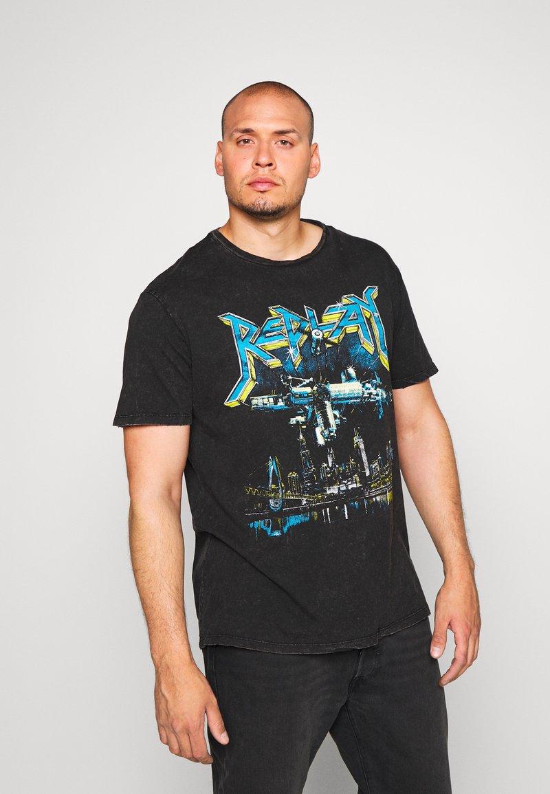 Replay Plus - T-Shirt print - blackboard