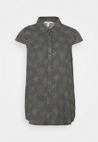Esprit - BLOUSE - Button-down blouse - navy - 0