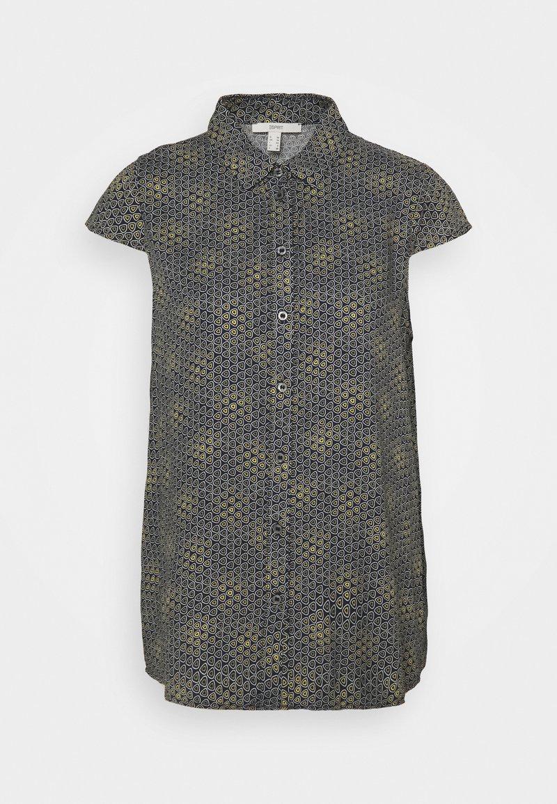 Esprit - BLOUSE - Button-down blouse - navy