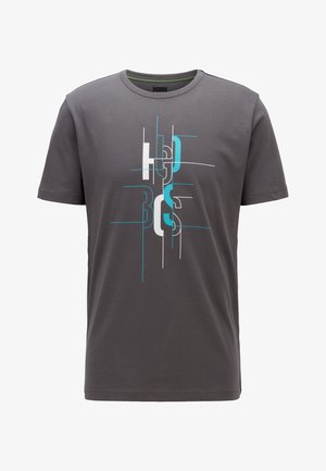 TEE  - T-shirts print - anthracite