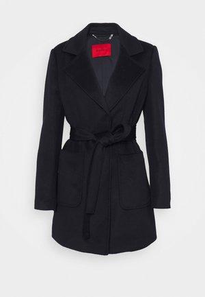 SHORTRUN - Classic coat - midnight blue