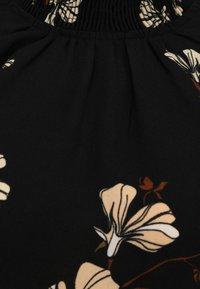 Vero Moda Petite - VMANNIE SMOCK - Bluser - black - 2