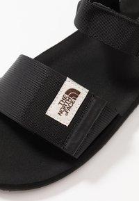 The North Face - M SKEENA SANDAL - Walking sandals - black - 5