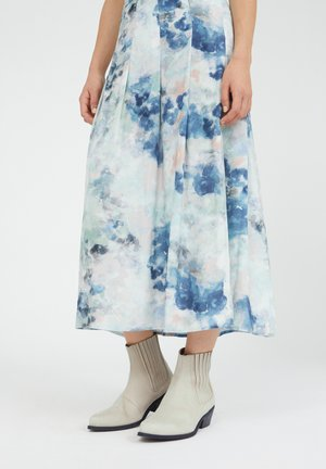 LEAAH - A-line skirt - foggy blue