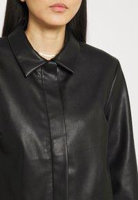 Stylein - VEREL - Faux leather jacket - black - 6