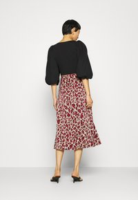 Fabienne Chapot - CLAIRE SKIRT - A-line skirt - oatmeal/parrot purpl - 2