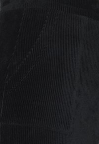 Even&Odd Petite - CORDUROY high waisted skirt - Mini skirts  - black - 2