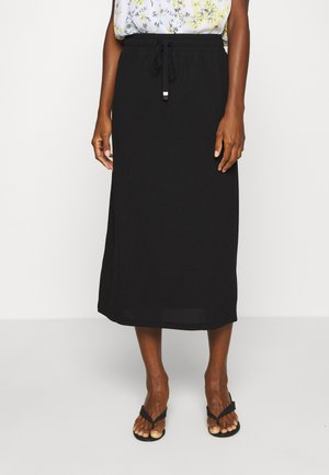 BEATHE SKIRT - A-line skirt - black