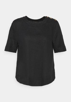 PUFF SLEEVE - T-shirts med print - black