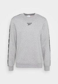 TAPE CREW - Sweatshirt - medium grey heather