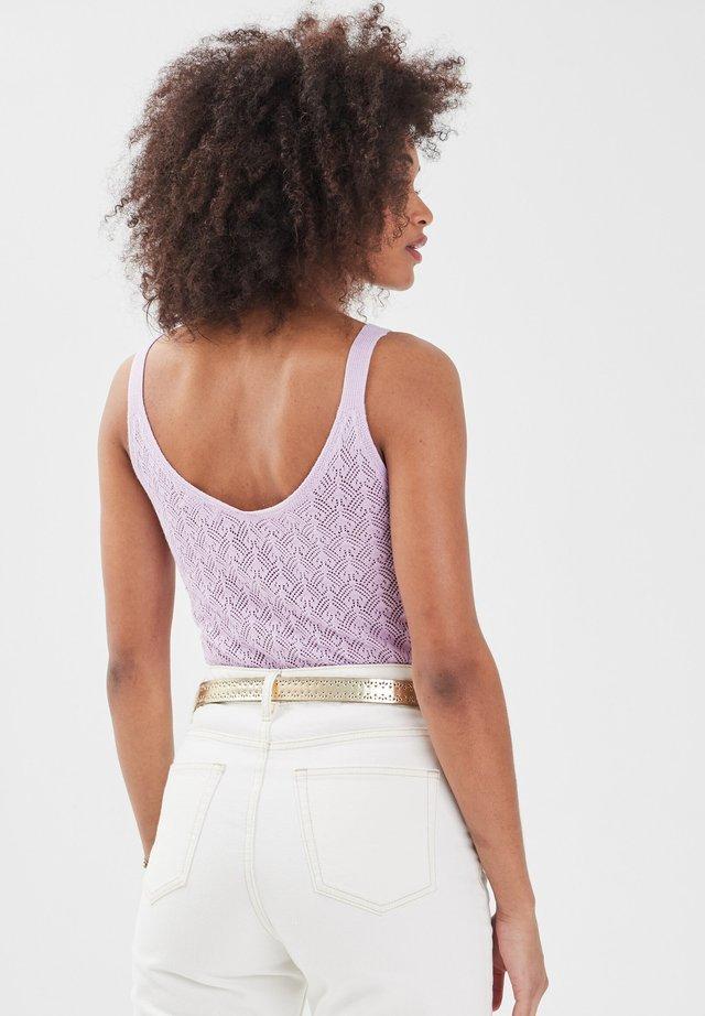 Top - violet clair
