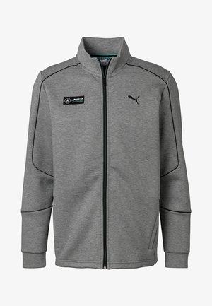 Zip-up hoodie - medium grey heather