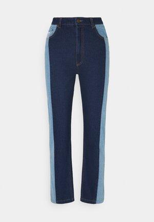 OG BLOCK DENIM PANTS  - Džíny Relaxed Fit - blue