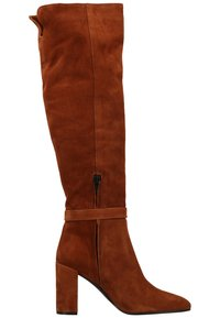 Scapa - High heeled boots - nociola/castagn - 6