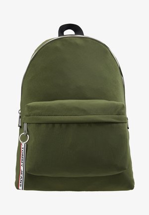 LOGO TAPE BACKPACK  - Ryggsäck - green