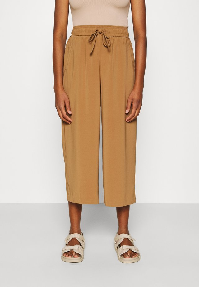 ONLCILLE STRING CULOTTE - Kangashousut - toasted coconut