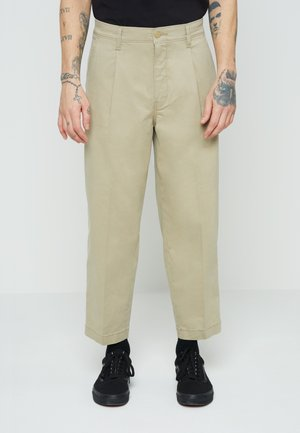 STAY LOOSE CROP - Trousers - neutrals