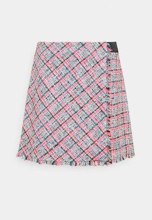 SUMMER BOUCLE SKIRT - Mini skirt - pink