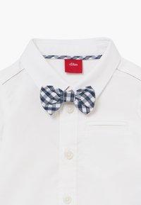 s.Oliver - LANGARM - Shirt - white - 4