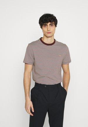 DAYTONA TEE - T-shirt print - farah red