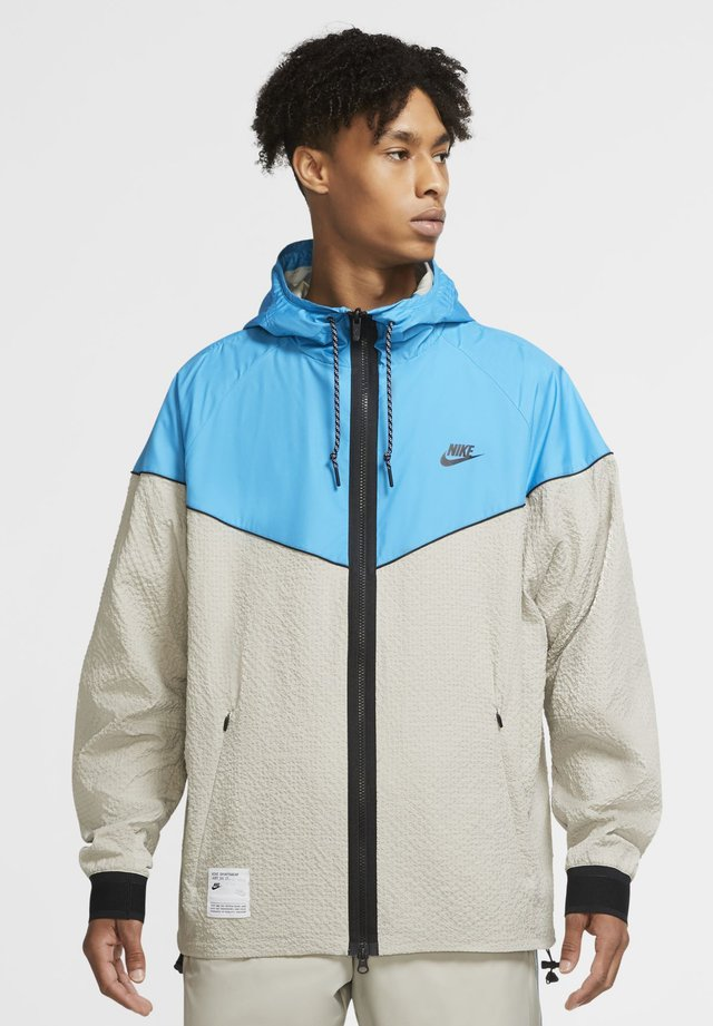 Summer jacket - stone/laser blue