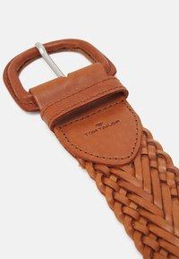 TOM TAILOR - ELLEN - Belt - light brown - 2
