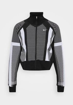 Trainingsjacke - black/white/metallic silver