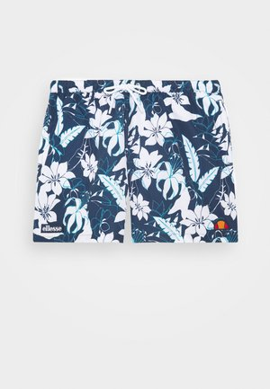 ANDRAZ - Swimming shorts - blue/white