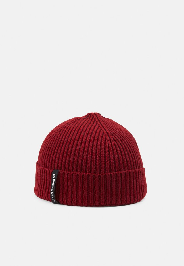 JUAN BEANIE - Berretto - chilli red