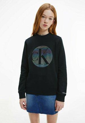 CIRCLE MONOGRAM  - Sweatshirt - ck black