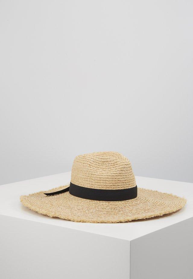 SHADYLADYRAFFIA PANAMA HAT - Kapelusz - natural