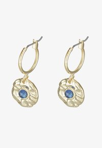 Leslii - Earrings - gold-coloured/blue - 1