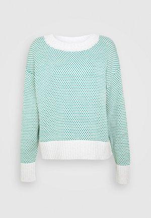 MARIBOES - Sweter - green mix