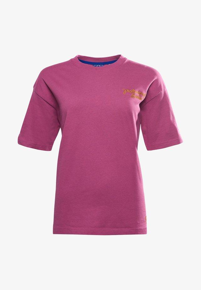 WORKWEAR GRAPHIC - Print T-shirt - amethyst