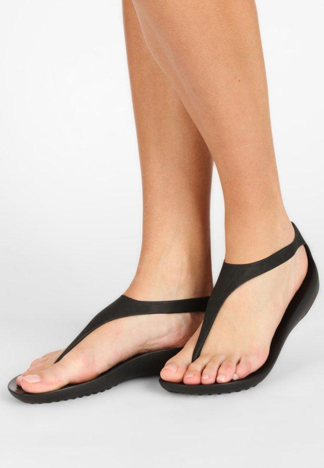 SERENA - Sandały kąpielowe - black