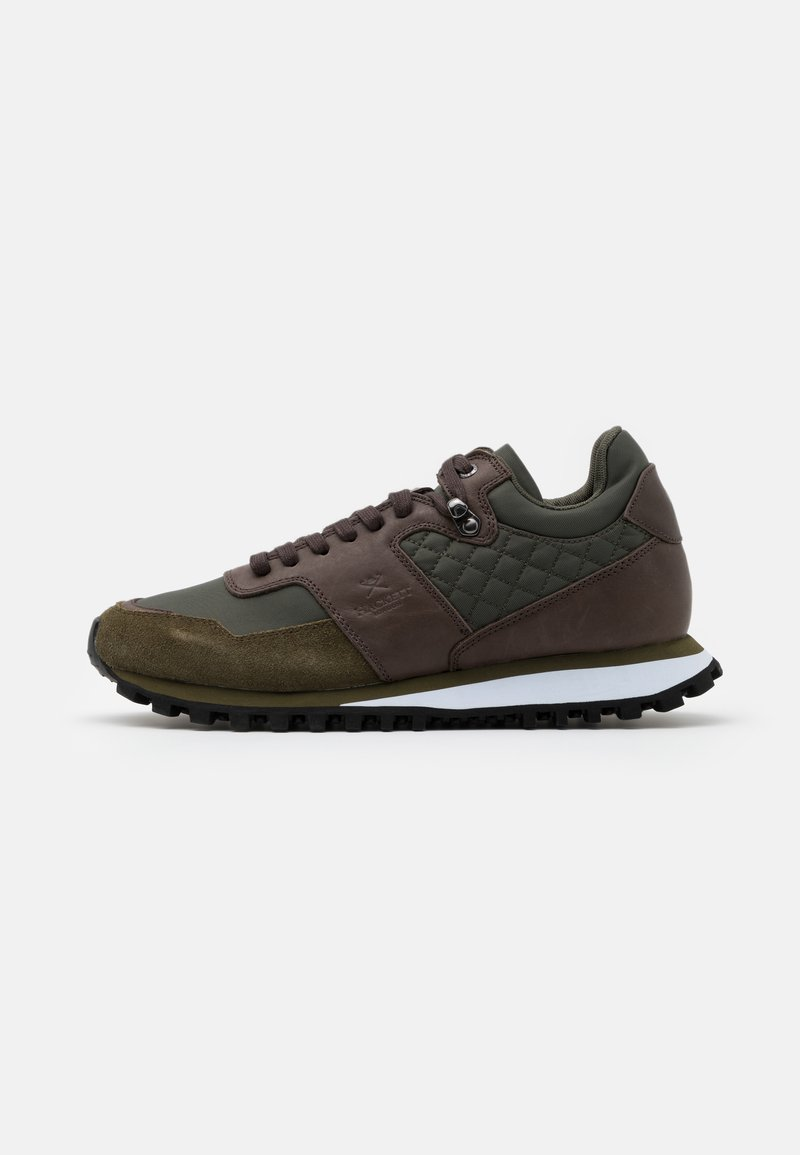 Hackett London - HIKER TRAINER - Tenisky - green
