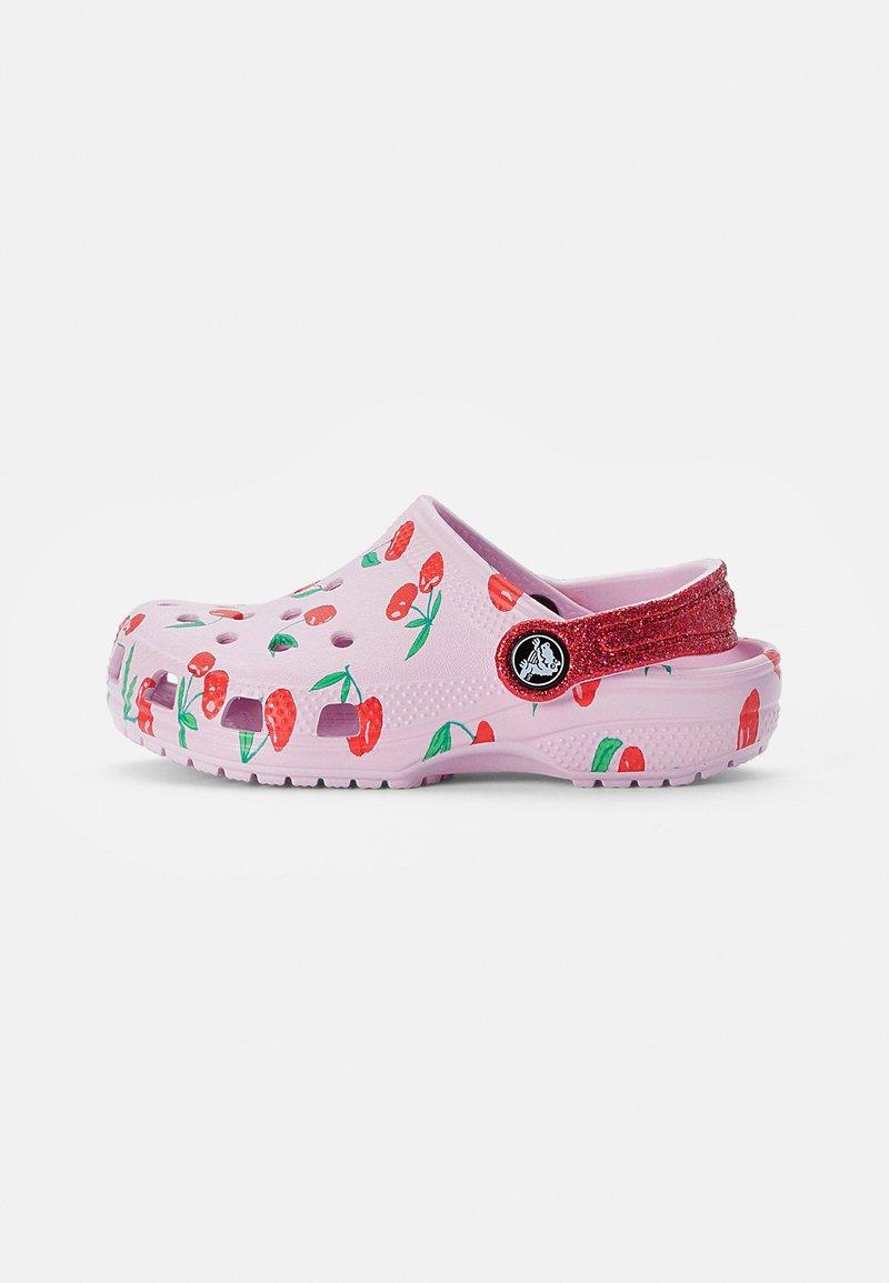 Crocs - CLASSIC FOOD - Pool slides - ballerina pink