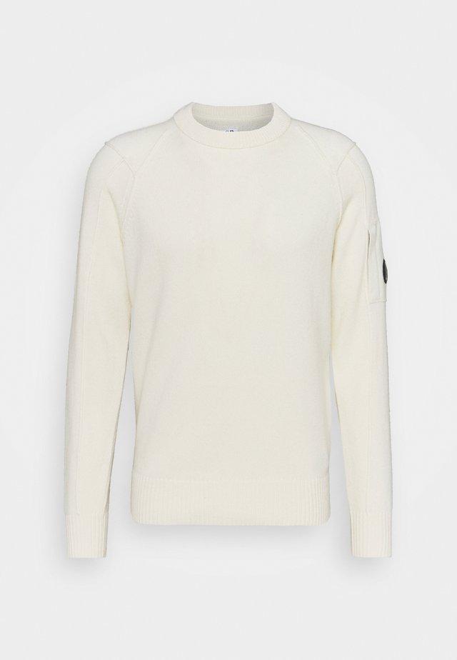 CREW NECK - Maglione - gauze white