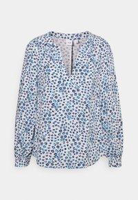 GAP Petite - ZEN NECK - Long sleeved top - daisy floral blue - 0