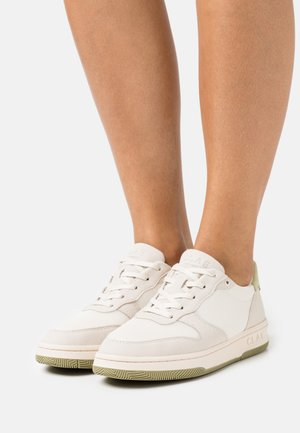 VEGAN MALONE - Sneakersy niskie - smoke/sage green