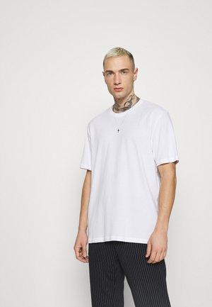 ONSMILLENIUM LIFE TEE - Basic T-shirt - bright white
