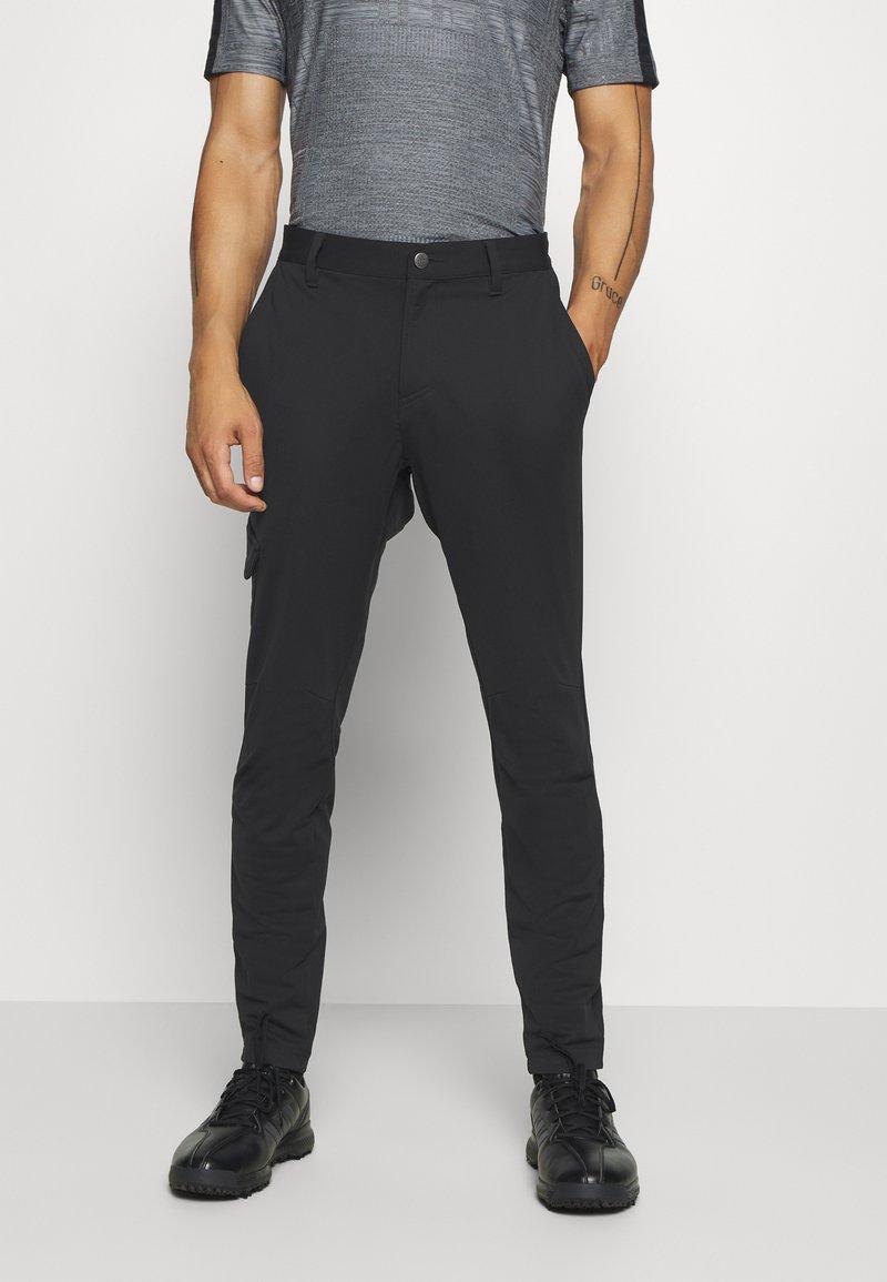 adidas Golf - ADICROSS WARP JOGGER - Spodnie materiałowe - black