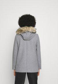 Vero Moda - VMCOLLARYORK COLLAR JACKET - Classic coat - light grey melange - 2