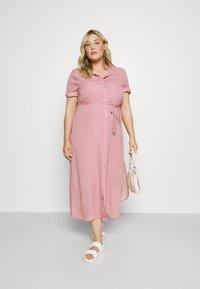 Glamorous Curve - DRESS - Shirt dress - rosa - 1
